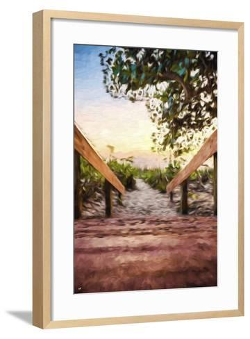One Way II - In the Style of Oil Painting-Philippe Hugonnard-Framed Art Print