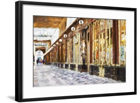 Royal Gallery - In the Style of Oil Painting-Philippe Hugonnard-Framed Art Print