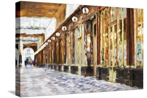 Royal Gallery - In the Style of Oil Painting-Philippe Hugonnard-Stretched Canvas Print
