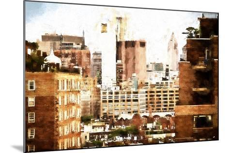 Midtown New York-Philippe Hugonnard-Mounted Giclee Print
