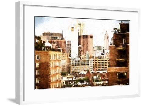 Midtown New York-Philippe Hugonnard-Framed Art Print