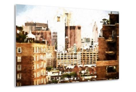 Midtown New York-Philippe Hugonnard-Metal Print