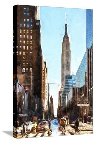 Empire Street-Philippe Hugonnard-Stretched Canvas Print