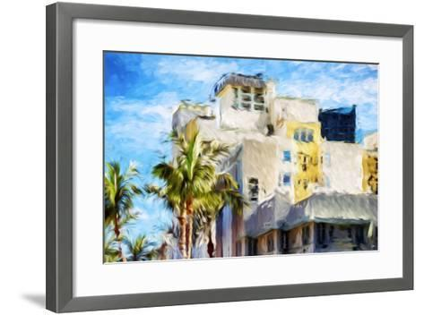 Art Deco III - In the Style of Oil Painting-Philippe Hugonnard-Framed Art Print