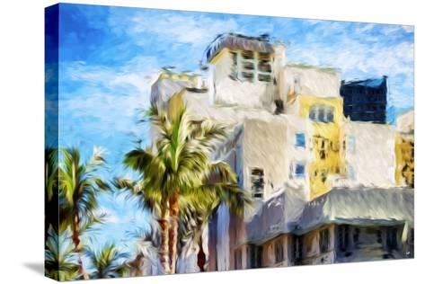 Art Deco III - In the Style of Oil Painting-Philippe Hugonnard-Stretched Canvas Print