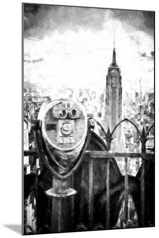 View of the Empire State Building-Philippe Hugonnard-Mounted Giclee Print