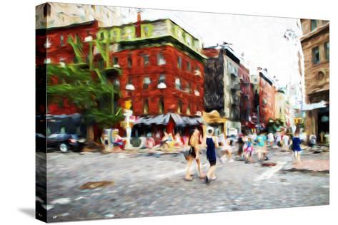 Street Scene III - In the Style of Oil Painting-Philippe Hugonnard-Stretched Canvas Print