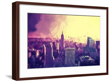 Manhattan Heat II-Philippe Hugonnard-Framed Art Print