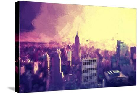 Manhattan Heat II-Philippe Hugonnard-Stretched Canvas Print