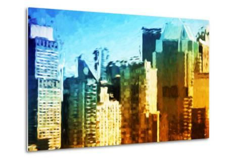 Skyscrapers Collection IV - In the Style of Oil Painting-Philippe Hugonnard-Metal Print