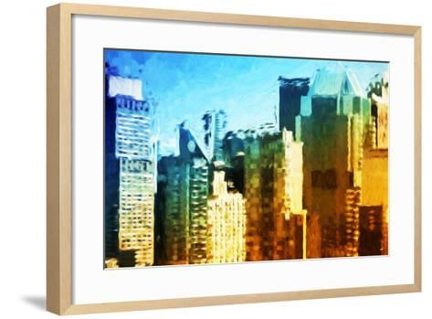 Skyscrapers Collection IV - In the Style of Oil Painting-Philippe Hugonnard-Framed Art Print