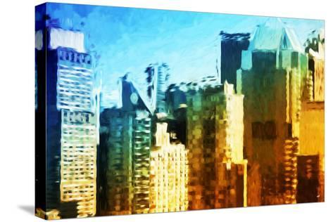 Skyscrapers Collection IV - In the Style of Oil Painting-Philippe Hugonnard-Stretched Canvas Print