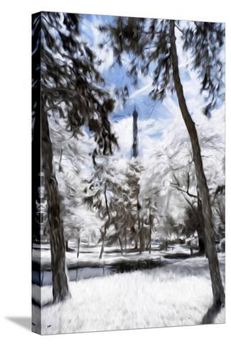 Parisian Forest - In the Style of Oil Painting-Philippe Hugonnard-Stretched Canvas Print