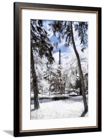 Parisian Forest - In the Style of Oil Painting-Philippe Hugonnard-Framed Art Print