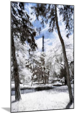 Parisian Forest - In the Style of Oil Painting-Philippe Hugonnard-Mounted Giclee Print