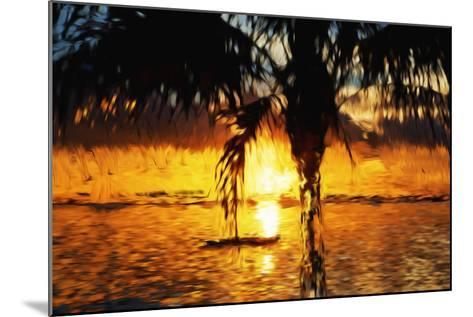 Hot Sun - In the Style of Oil Painting-Philippe Hugonnard-Mounted Giclee Print