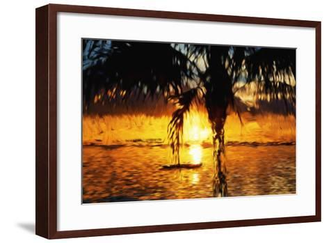 Hot Sun - In the Style of Oil Painting-Philippe Hugonnard-Framed Art Print