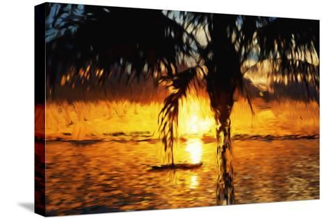 Hot Sun - In the Style of Oil Painting-Philippe Hugonnard-Stretched Canvas Print
