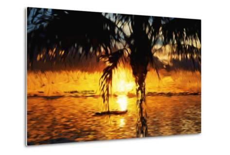 Hot Sun - In the Style of Oil Painting-Philippe Hugonnard-Metal Print