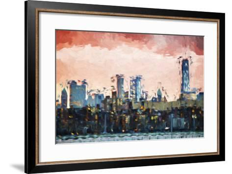 Red Light - In the Style of Oil Painting-Philippe Hugonnard-Framed Art Print