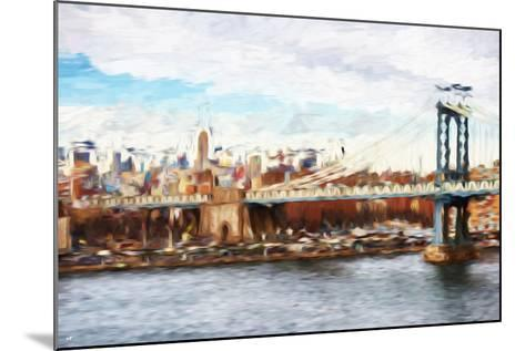 Big City - In the Style of Oil Painting-Philippe Hugonnard-Mounted Giclee Print