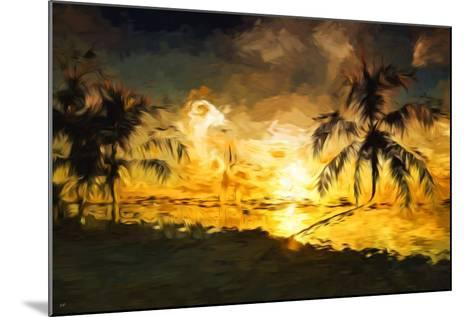 Colorful Sunset IV - In the Style of Oil Painting-Philippe Hugonnard-Mounted Giclee Print