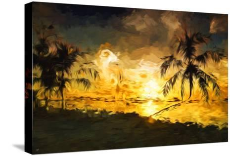 Colorful Sunset IV - In the Style of Oil Painting-Philippe Hugonnard-Stretched Canvas Print