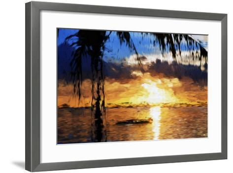 End of the Day - In the Style of Oil Painting-Philippe Hugonnard-Framed Art Print