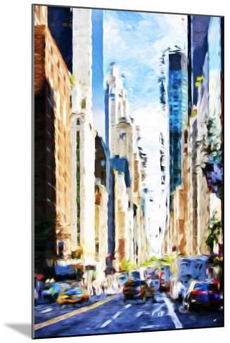 Urban Scene VI - In the Style of Oil Painting-Philippe Hugonnard-Mounted Giclee Print