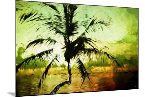 Tropical Sunset III - In the Style of Oil Painting-Philippe Hugonnard-Mounted Giclee Print
