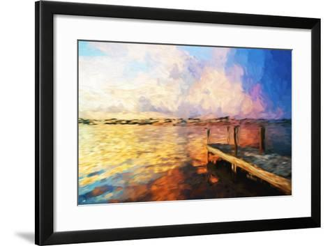 Mysterious Sunset - In the Style of Oil Painting-Philippe Hugonnard-Framed Art Print