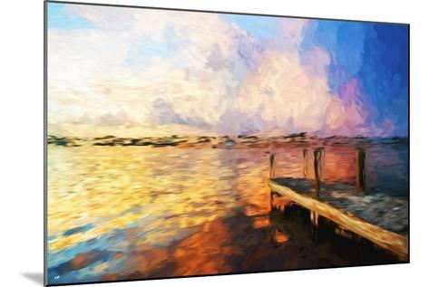 Mysterious Sunset - In the Style of Oil Painting-Philippe Hugonnard-Mounted Giclee Print