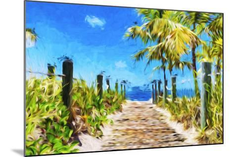 Path to the Beach - In the Style of Oil Painting-Philippe Hugonnard-Mounted Giclee Print