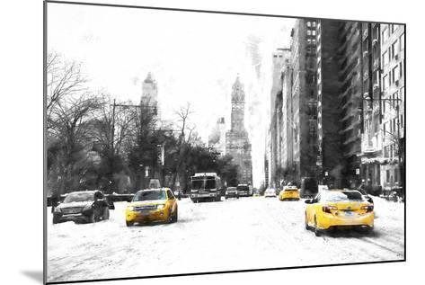 Manhattan Winter Day-Philippe Hugonnard-Mounted Giclee Print