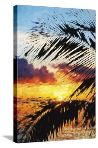 West Palm II - In the Style of Oil Painting-Philippe Hugonnard-Stretched Canvas Print