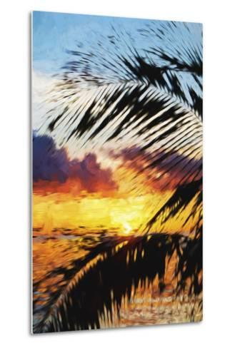 West Palm II - In the Style of Oil Painting-Philippe Hugonnard-Metal Print