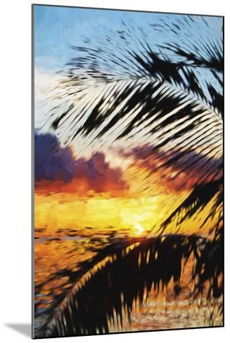 West Palm II - In the Style of Oil Painting-Philippe Hugonnard-Mounted Giclee Print