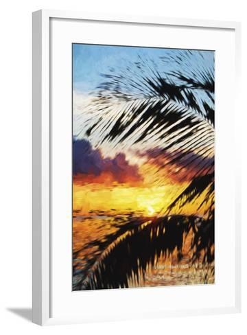 West Palm II - In the Style of Oil Painting-Philippe Hugonnard-Framed Art Print