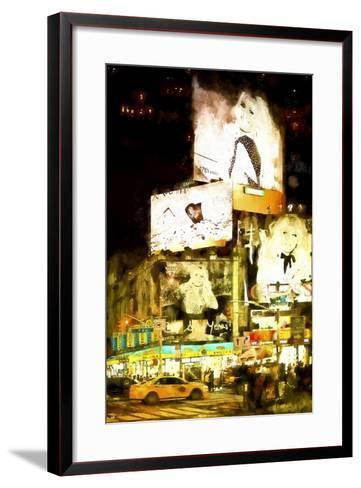 Manhattan Fashion-Philippe Hugonnard-Framed Art Print