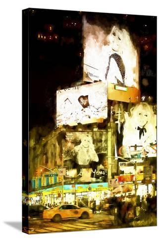Manhattan Fashion-Philippe Hugonnard-Stretched Canvas Print