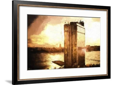 NYC Sunset-Philippe Hugonnard-Framed Art Print