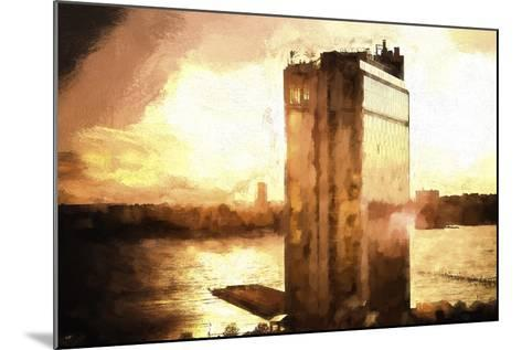 NYC Sunset-Philippe Hugonnard-Mounted Giclee Print