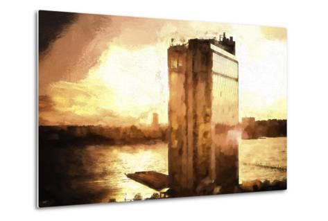 NYC Sunset-Philippe Hugonnard-Metal Print