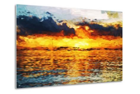 Sea Sun - In the Style of Oil Painting-Philippe Hugonnard-Metal Print