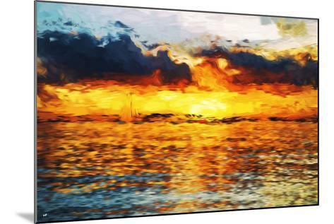 Sea Sun - In the Style of Oil Painting-Philippe Hugonnard-Mounted Giclee Print