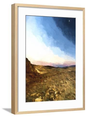 Desert Sunset-Philippe Hugonnard-Framed Art Print