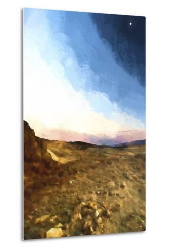 Desert Sunset-Philippe Hugonnard-Metal Print