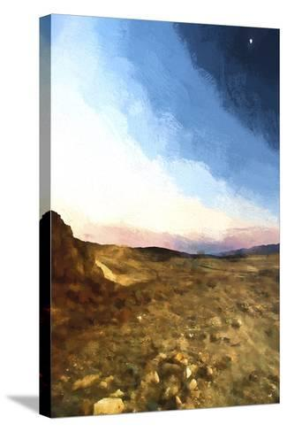 Desert Sunset-Philippe Hugonnard-Stretched Canvas Print