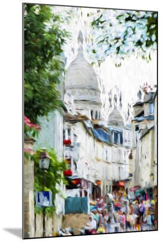 Paris Montmartre VI - In the Style of Oil Painting-Philippe Hugonnard-Mounted Giclee Print