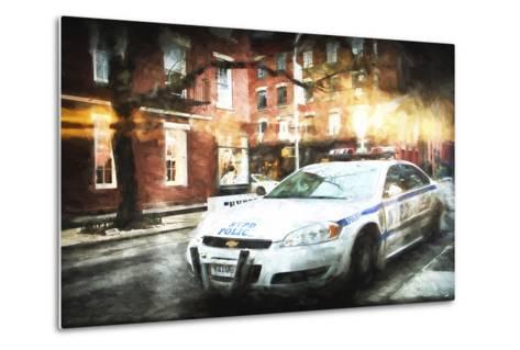 NYPD Police-Philippe Hugonnard-Metal Print
